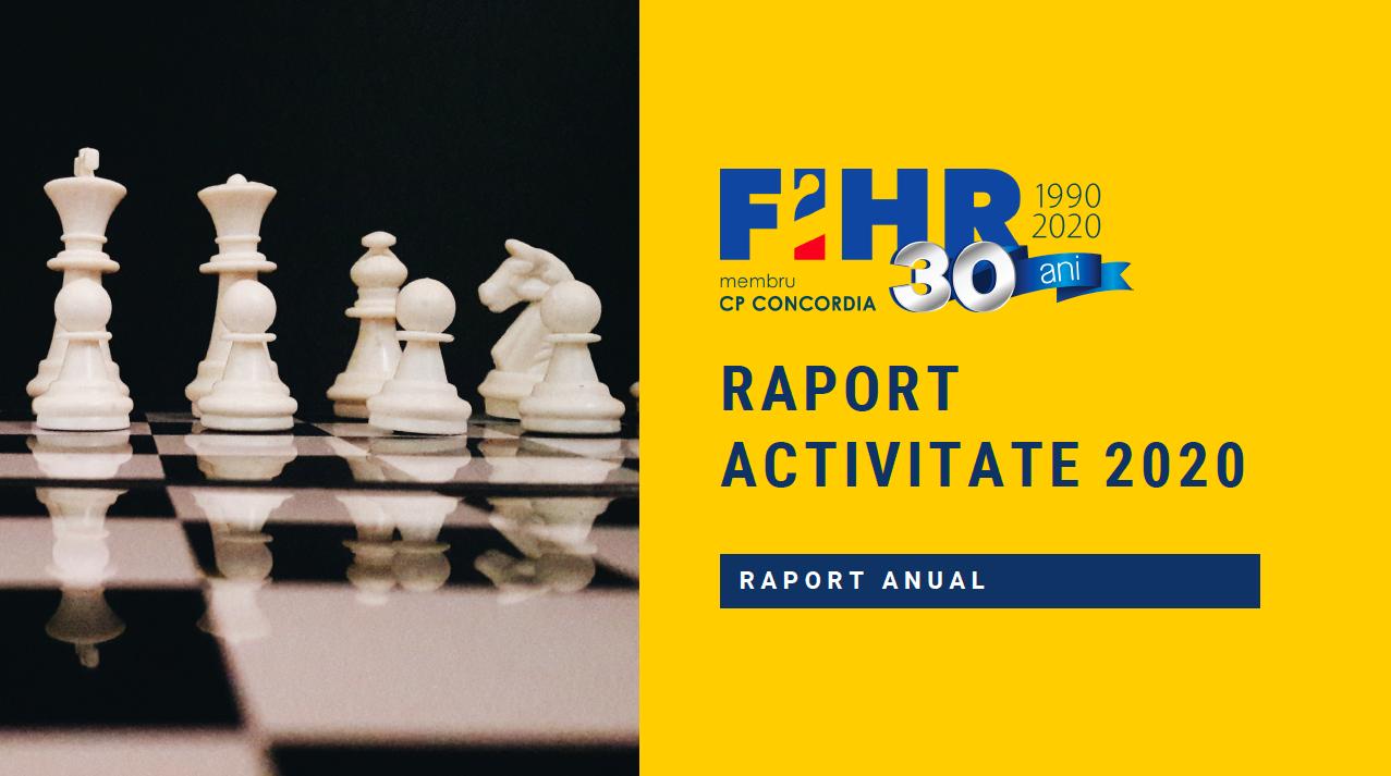 FIHR Raport Activitate 2020