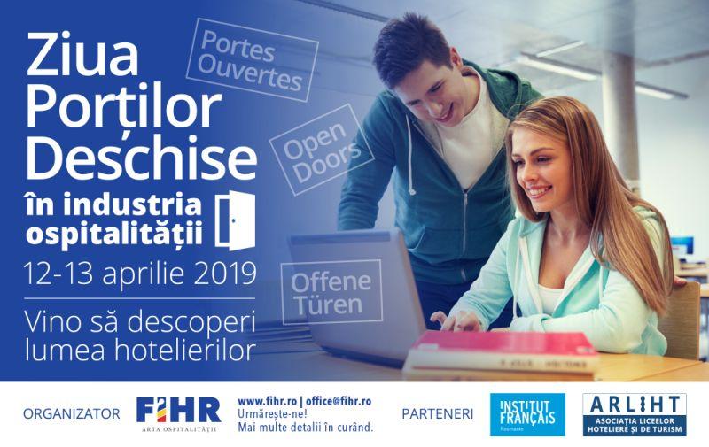 Ziua Portilor Deschise in industria ospitalitatii 2019